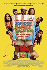 Vanessa Williams, Shannon Elizabeth, Cedric the Entertainer, Steve Harvey, Shad Moss, and Solange in Johnson Family Vacation (2004)