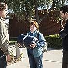 Christian Campbell, Colin Farrell, and Trevor Larcom in True Detective (2014)
