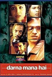 Darna Mana Hai(2003) Poster - Movie Forum, Cast, Reviews