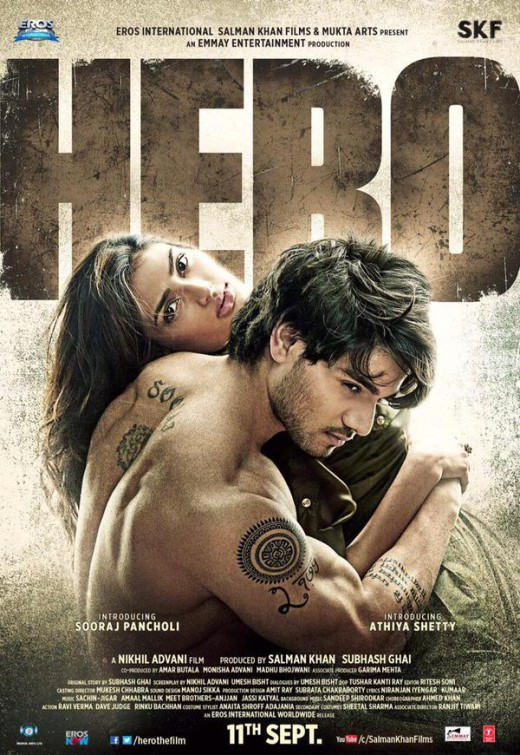 Hero 2015 Hindi Movie 720p HDRip 800MB ESubs Download