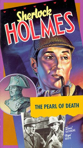 Basil Rathbone and Nigel Bruce in The Pearl of Death (1944)