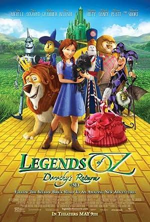 Animation Legends of Oz: Dorothy's Return Movie