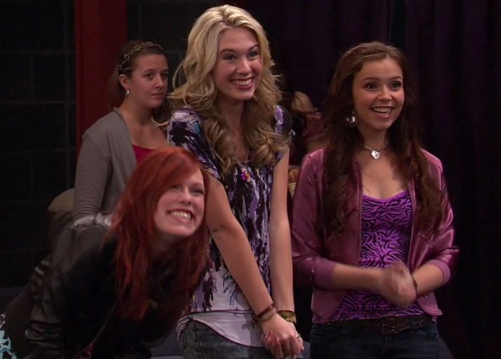 "The Northridge Girls in Nickelodeon's ""Victorious: The Blonde Squad"" Episode, first aired 6/30/2012"