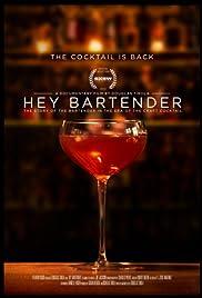 Hey Bartender Poster
