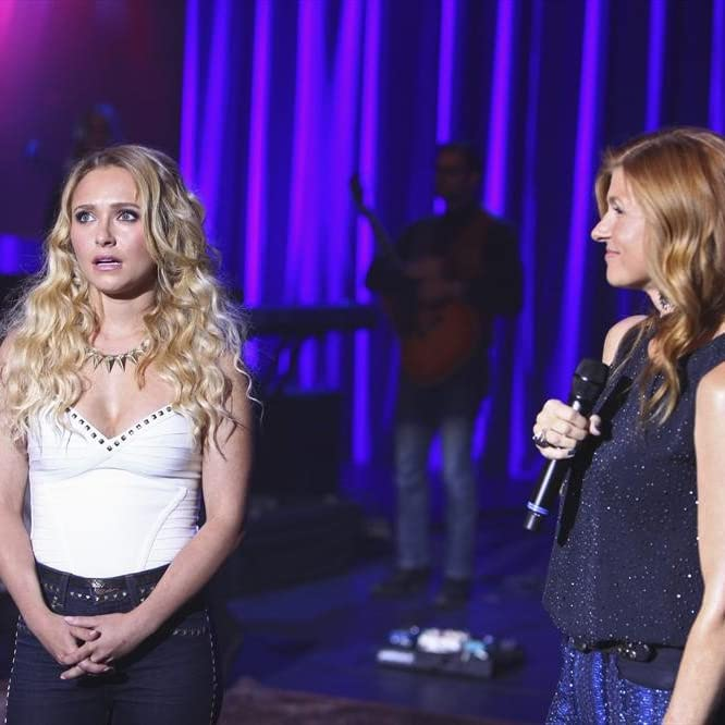 Connie Britton and Hayden Panettiere in Nashville (2012)