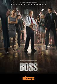 Kelsey Grammer, Connie Nielsen, Kathleen Robertson, Jeff Hephner, and Hannah Ware in Boss (2011)