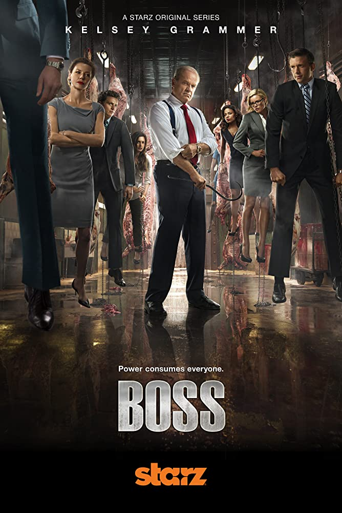 Kelsey Grammer, Connie Nielsen, Kathleen Robertson, Jeff Hephner, and Hannah Ware in Boss (2011)