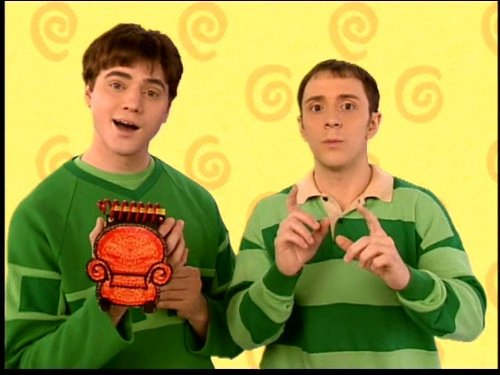 Blues Clues Steve Goes To College Tv Episode 2002 Photo
