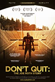 Don't Quit: The Joe Roth Story Poster