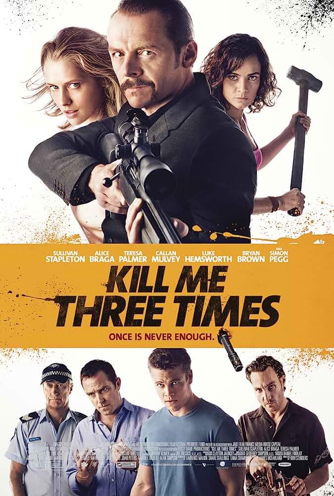 Kill Me Three Times (2014) Hindi Dubbed
