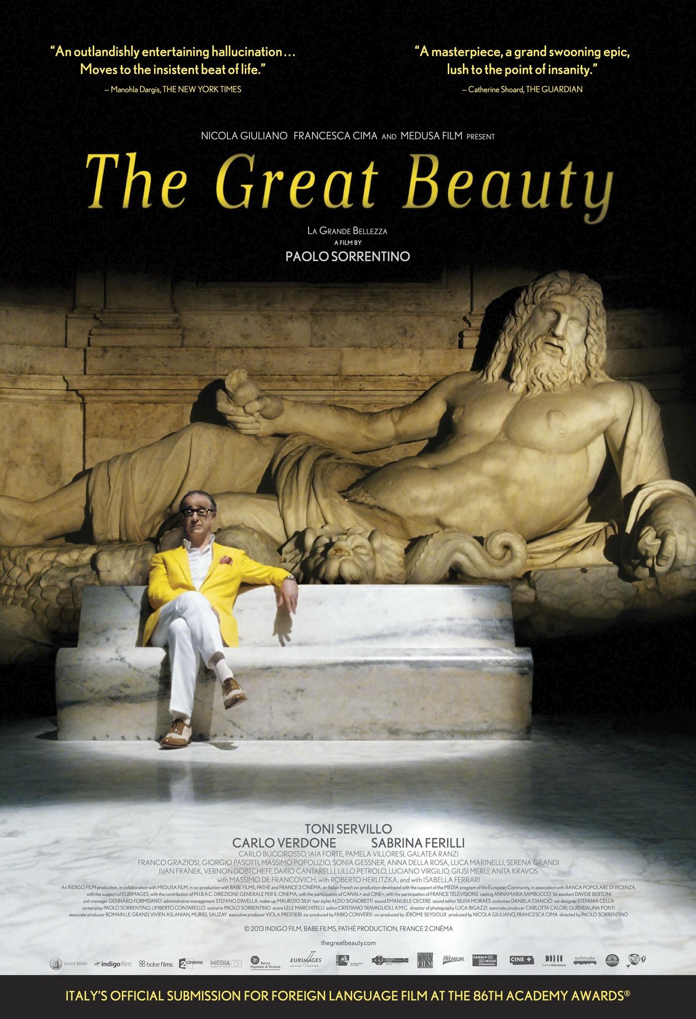 The Great Beauty (2013) BluRay 480p, 720p & 1080p