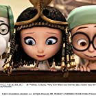 Ty Burrell, Ariel Winter, and Max Charles in Mr. Peabody & Sherman (2014)