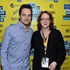 Janet Pierson and Jake Johnson at an event for Drinking Buddies (2013)