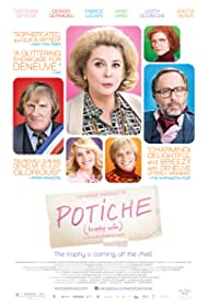 Catherine Deneuve, Gérard Depardieu, Judith Godrèche, Fabrice Luchini, Jérémie Renier, and Karin Viard in Potiche (2010)