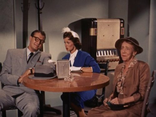 George Reeves, Noel Neill, and Elizabeth Patterson in Adventures of Superman (1952)