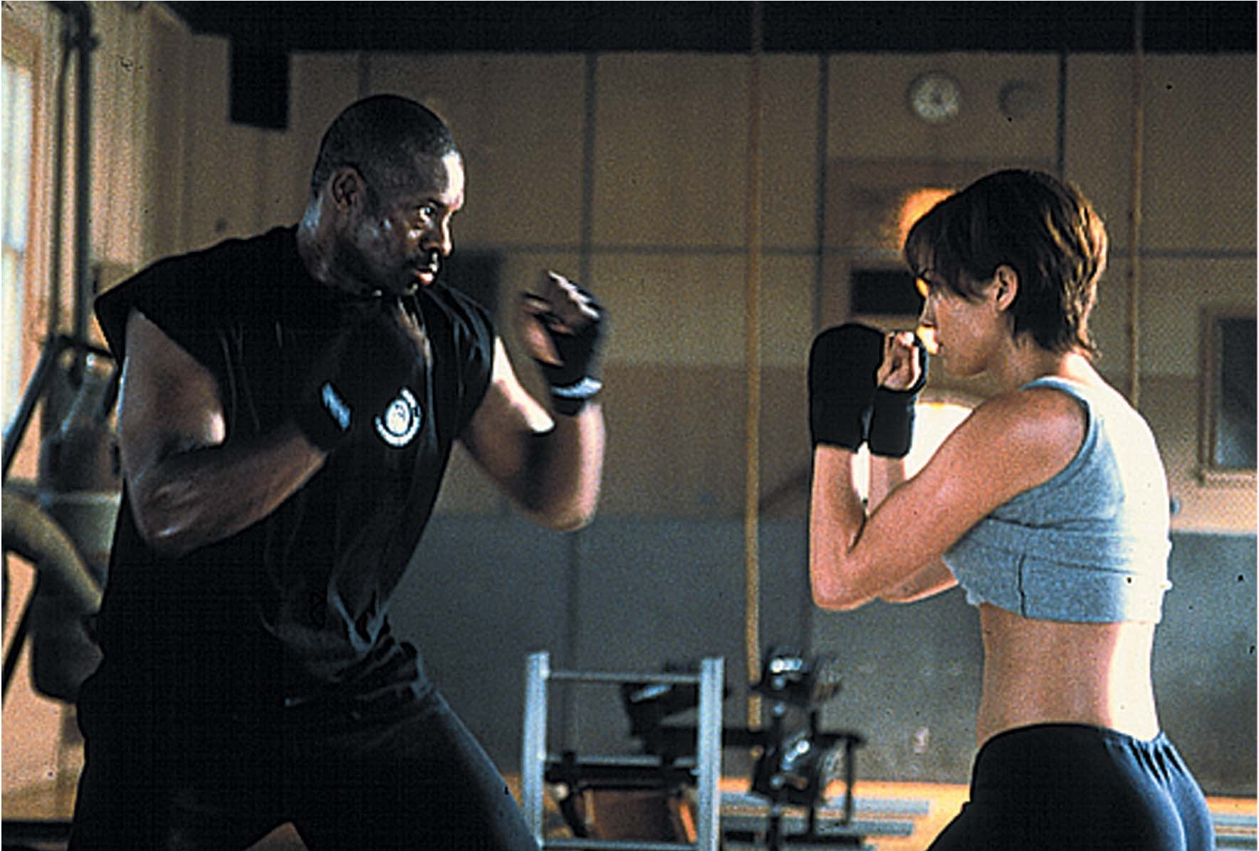Jennifer Lopez and Bruce A. Young in Enough (2002)