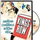 Ronald Reagan, Robert Cummings, Betty Field, and Ann Sheridan in Kings Row (1942)
