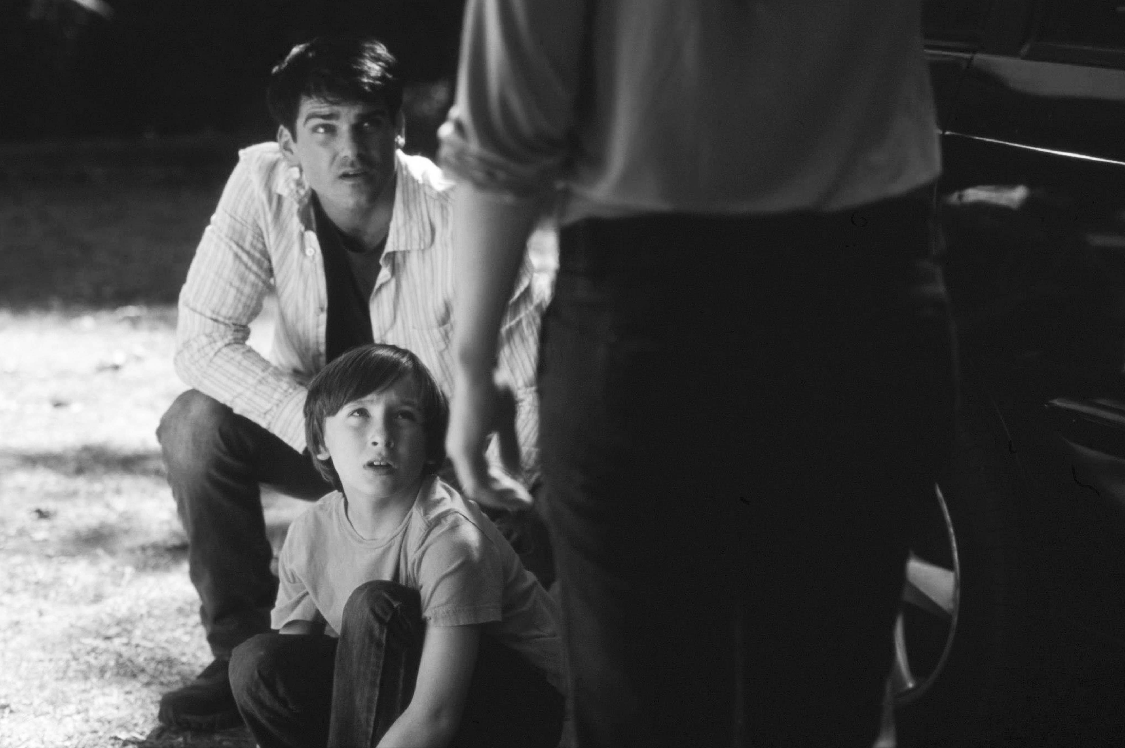 Sean McCracken as Kent and Cameron McIntyre as Aaron