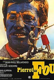Pierrot le Fou (1969) Poster - Movie Forum, Cast, Reviews