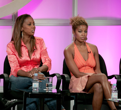 Holly Robinson Peete and Reagan Gomez-Preston at an event for Love, Inc. (2005)