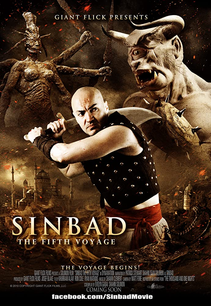 Sinbad The Fifth Voyage (2014) BluRay 720p 550MB Dual Audio ( Hindi – English ) ESubs MKV