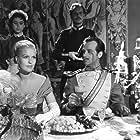 Eva Dahlbeck and Jarl Kulle in Sommarnattens leende (1955)