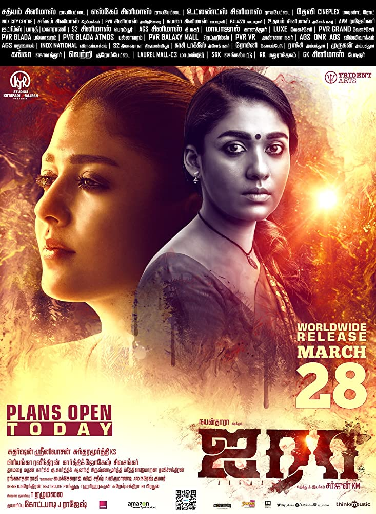 Airaa (2019) Hindi Dubbed 720p HDRip