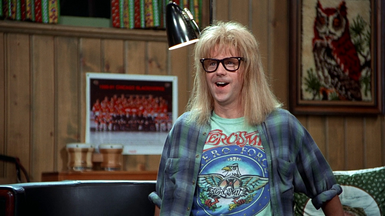 Dana Carvey in Waynes World 1992