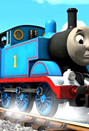 Thomas Tries to Pull the Troublesome Trucks Poster