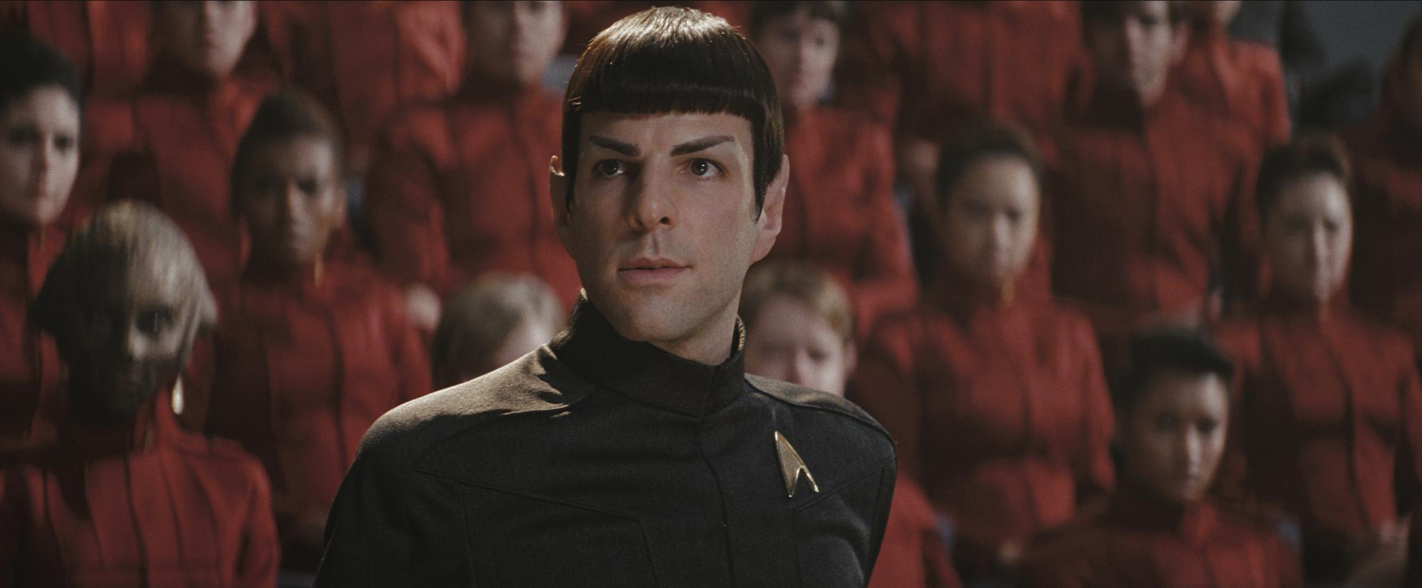 Zachary Quinto in Star Trek (2009)
