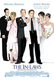 Michael Douglas, Candice Bergen, Albert Brooks, Ryan Reynolds, Lindsay Sloane, and Maria Ricossa in The In-Laws (2003)