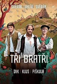 Vojtech Dyk, Tomás Klus, and Zdenek Piskula in Tri bratri (2014)