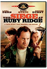 Laura Dern, Kirsten Dunst, and Randy Quaid in The Siege at Ruby Ridge (1996)
