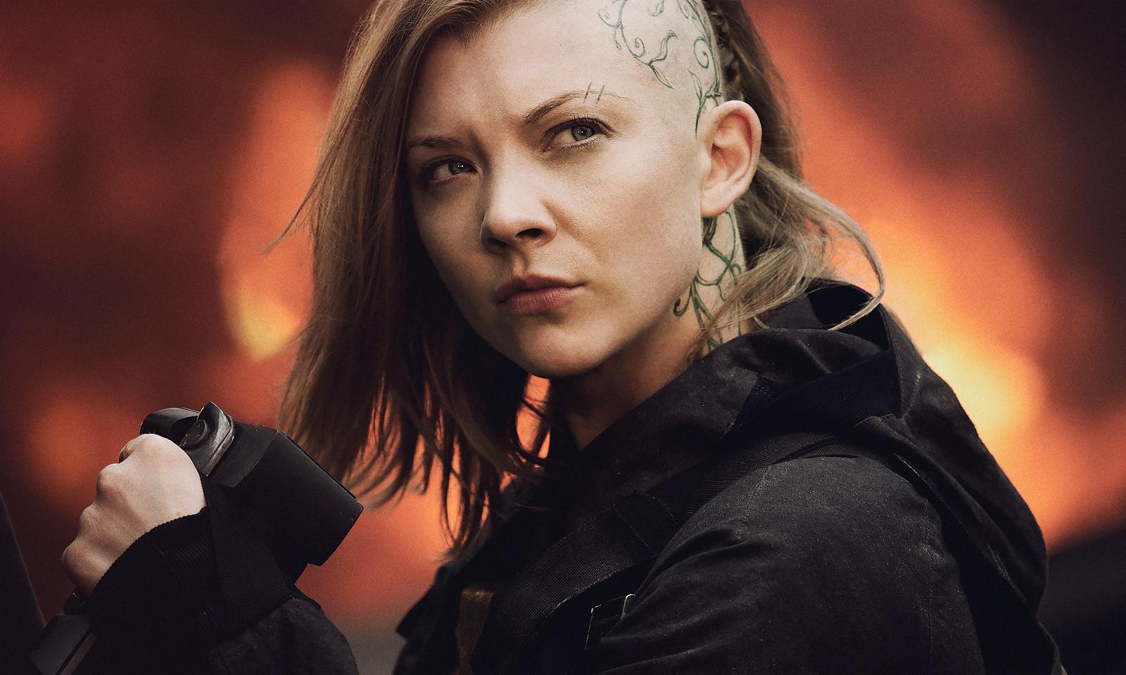 Natalie Dormer in The Hunger Games: Mockingjay - Part 1 (2014)