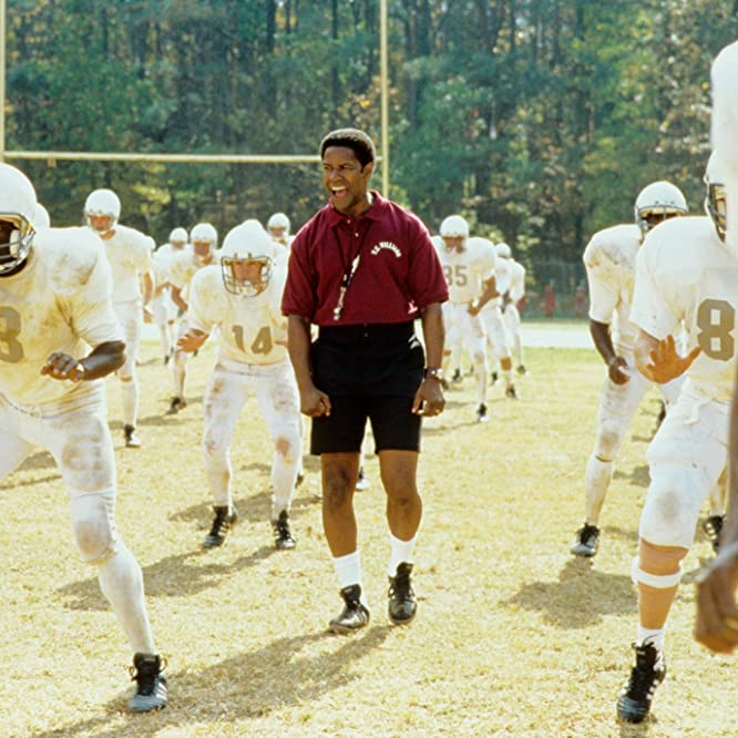 Denzel Washington in Remember the Titans (2000)