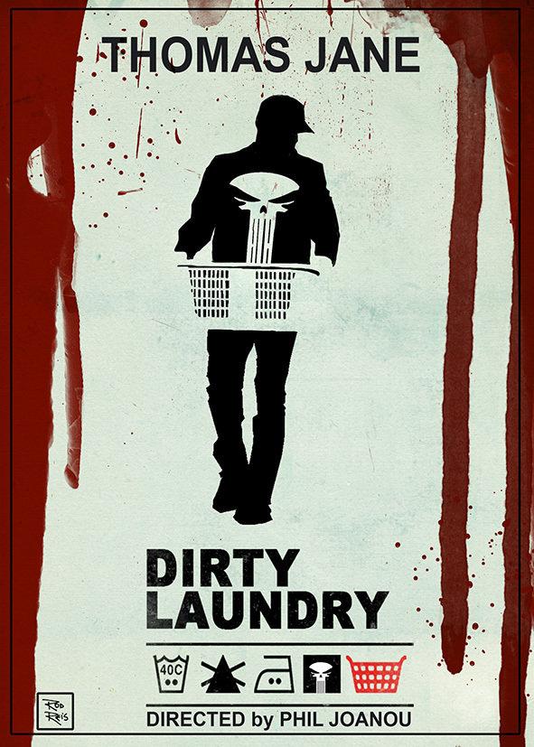 BAUDĖJAS. NEŠVARŪS SKALBINIAI (2012) / The Punisher: Dirty Laundry