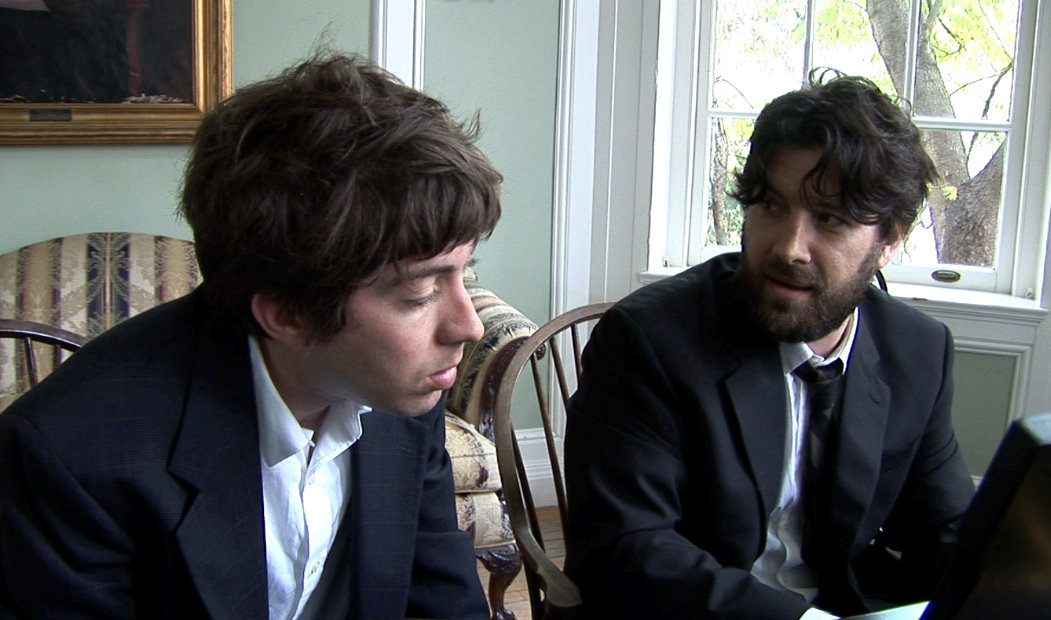 Justin Rice and Bob Schneider in Harmony and Me (2009)