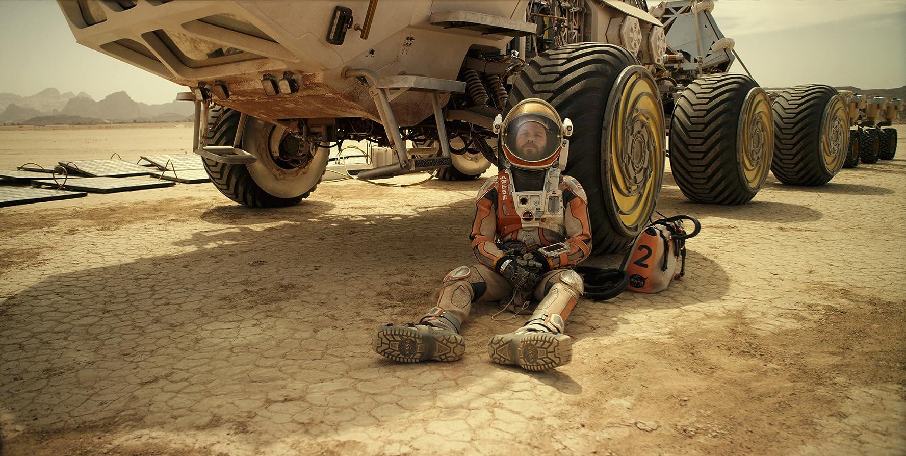 Cuplikan Film The Martian
