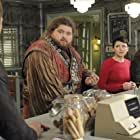 Lee Arenberg, Jorge Garcia, Ginnifer Goodwin, and Josh Dallas in Once Upon a Time (2011)