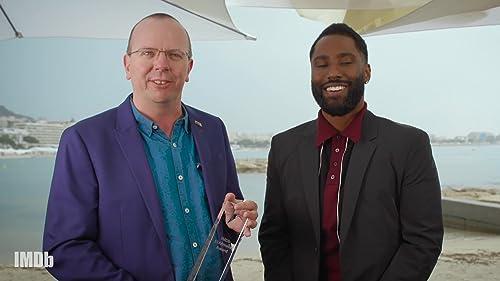 John David Washington Receives the IMDb Breakout Star STARmeter Award