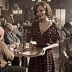 Sylvia Hoeks in her pub