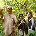 James Hong, Jansen Panettiere, Samantha Hanratty, and William Brent in The Lost Medallion: The Adventures of Billy Stone (2013)