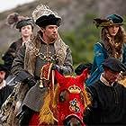 Jonathan Rhys Meyers, Sarah Bolger, and Tamzin Merchant in The Tudors (2007)