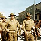 William Holden, Ernest Borgnine, and Jaime Sánchez in The Wild Bunch (1969)