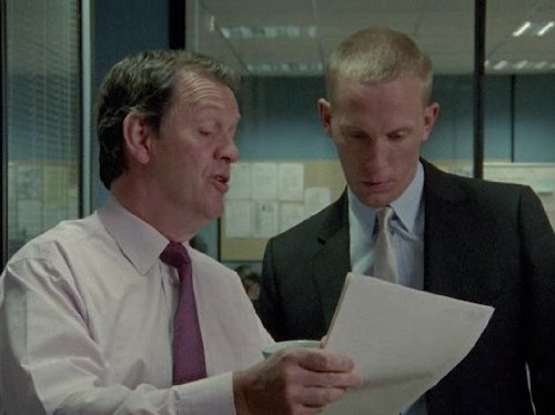 Laurence Fox and Kevin Whately in Lewis (2006)