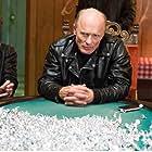 Milla Jovovich, Ed Harris, and Anton Yelchin in Cymbeline (2014)