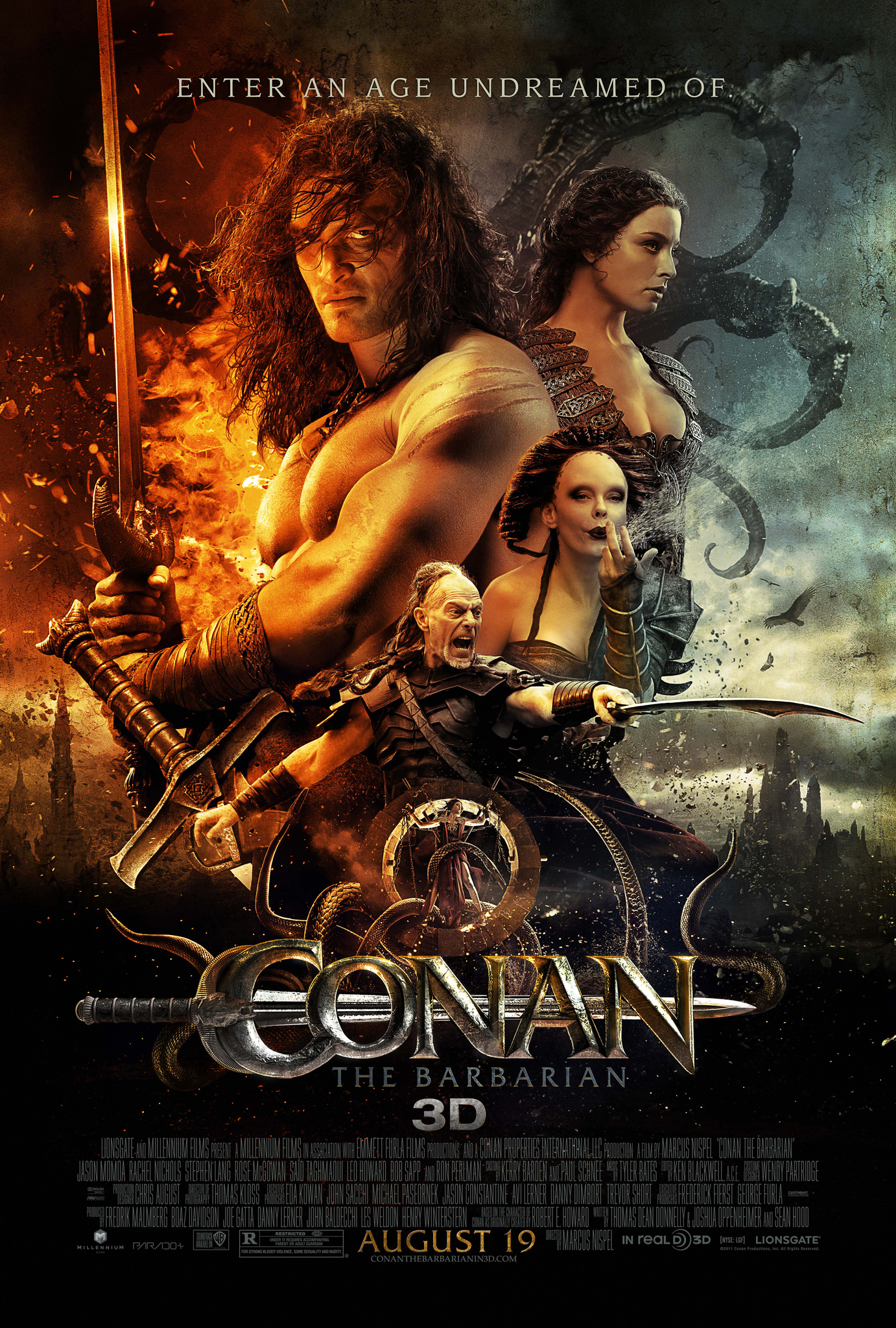 Conan the Barbarian (2011) - IMDb