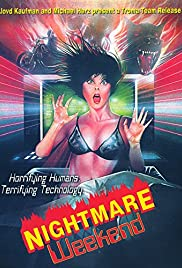 Nightmare Weekend (1986) Poster - Movie Forum, Cast, Reviews