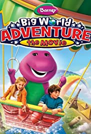 Barney: Big World Adventure: The Movie Poster