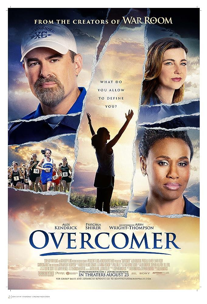 Aryn Wright-Thompson, Alex Kendrick, Priscilla C. Shirer, and Shari Rigby in Overcomer (2019)